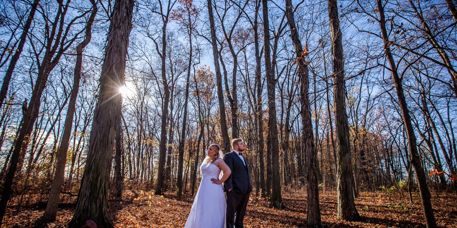 Bride and Groom, Married Couple, Indiana Wedding Photographers, Fort Wayne Wedding Photographers